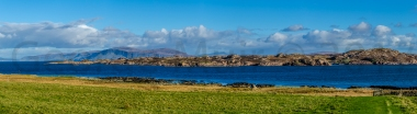 From Iona looking towards Fionnphort